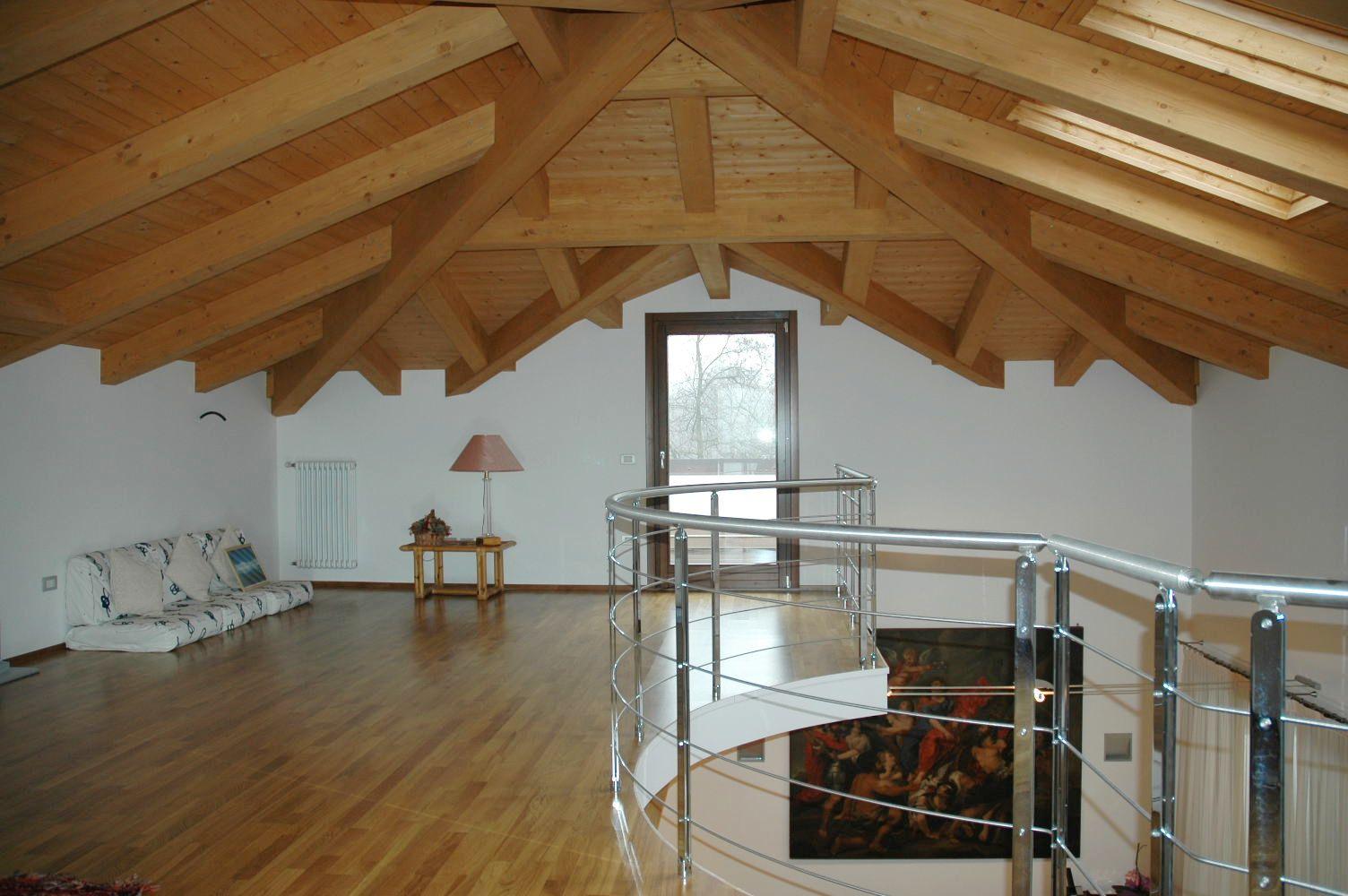 Il tetto for Durata casa in legno